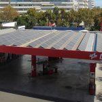 Cepsa comienza la instalación de paneles solares en sus estaciones de servicio